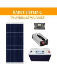 AYDINLATMA-TV PAKETİ (PAKET 1)