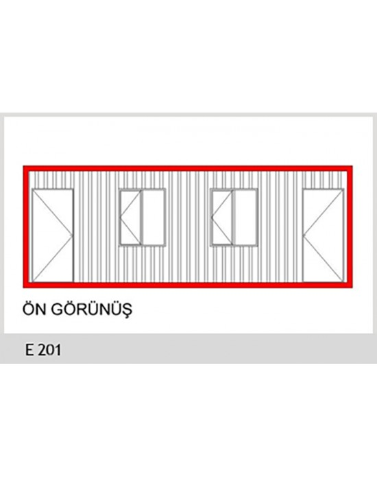 E201 STANDART KONTEYNER
