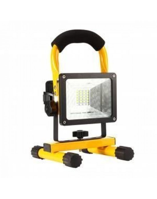 Gold Silver 10 Watt Akülü Çakmaklıklı Projektör
