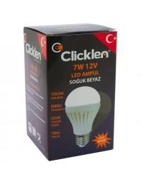 Clicken 7 Watt 12V LED Ampul