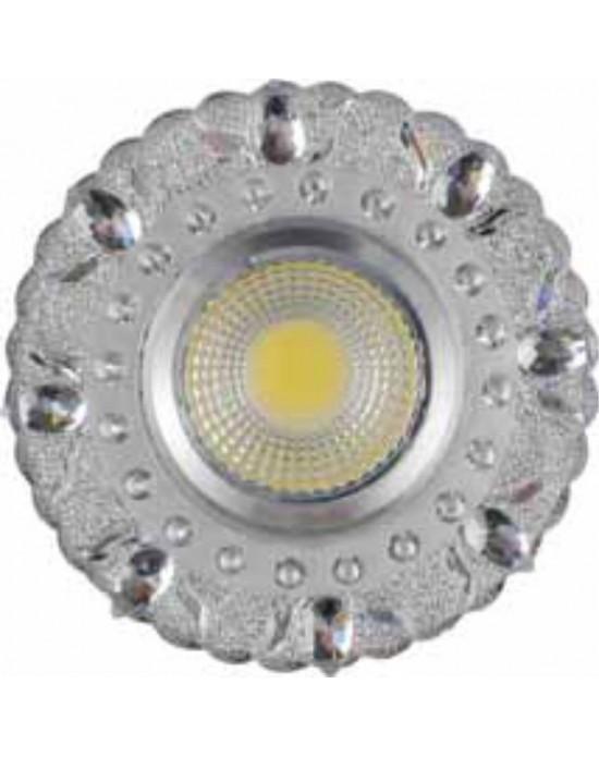 Forlife 5 Watt Seyrek Taşlı Cam Spot - Gün Işığı
