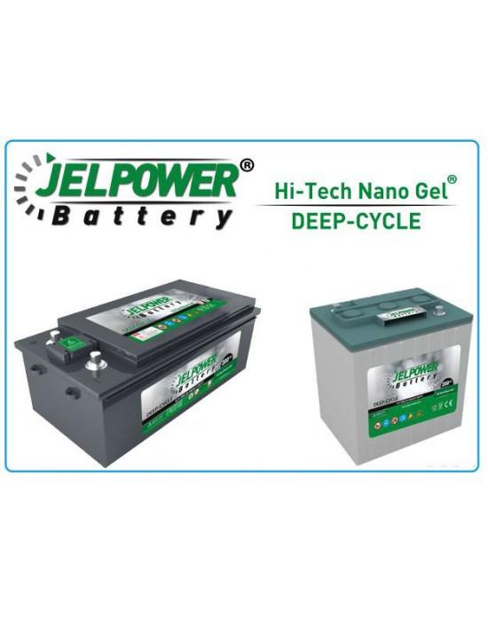 JelPower 12 Volt 102AH Akü