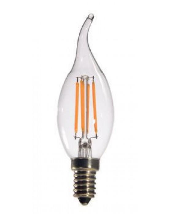 Forlife 4 Watt Kıvrık Beyaz Rustik LED Ampul